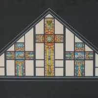 Churches Stained Glass 12